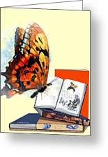 Monarch Books Greeting Card by Melodye Whitaker