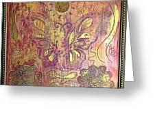 Monarch Butterfly By Alfredo Garcia Greeting Card