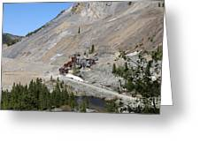 Monarch Mine - Monarch Pass Colorado Greeting Card