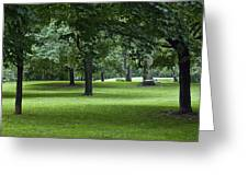 Monarch Park - 26 Greeting Card