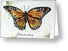Monarchs - Butterfly Greeting Card