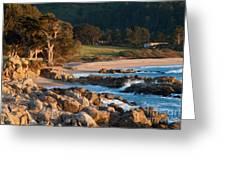 Monastery Beach In Carmel California Greeting Card