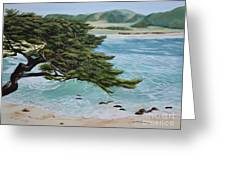 Monastery Beach Greeting Card