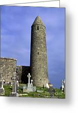 Monastic Round Tower Greeting Card