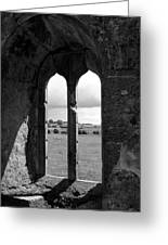 Monastic View 1 Greeting Card