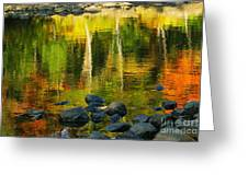 Monet Autumnal 02 Greeting Card by Aimelle