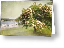Monet's Tree Greeting Card