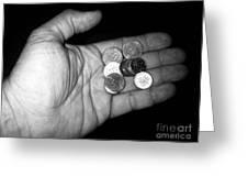 Money Always Funny Greeting Card
