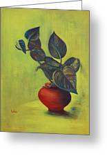 Money Plant - Still Life Greeting Card