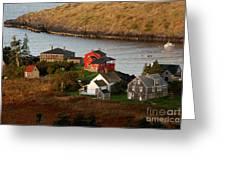 Monhegan Island Maine 142 Greeting Card by Cindy McIntyre