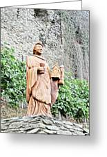 Monk Of St Goar Greeting Card