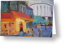 Monmartre Greeting Card by Julie Todd-Cundiff