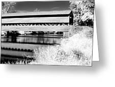 Mono Bridge Greeting Card