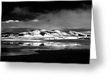 Mono Craters Greeting Card