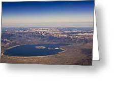 Mono Lake And The High Sierras Greeting Card