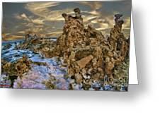Mono Lake Tufa Reef Greeting Card