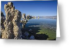 Mono Lake Tufas 3 Greeting Card