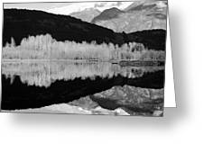 Mono One Mile Lake Greeting Card