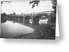 Monocacy Aqueduct, 1892 Greeting Card