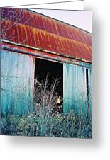 Monroe Co. Michigan Barn Greeting Card