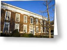 Monroe Hall University Of Virginia Greeting Card