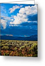 Monsoons In July Greeting Card
