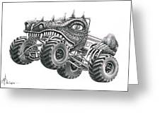 Monster Truck Greeting Card