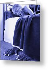 Monster Under My Bed Greeting Card