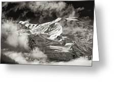 Mont Blanc Group Greeting Card