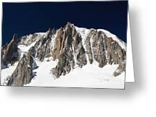 Mont Blanc Massif Greeting Card