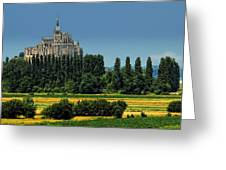 Mont Saint Michel Greeting Card