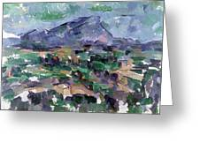 Montagne Sainte-victoire Greeting Card