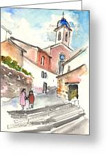 Montalcino 01 Greeting Card