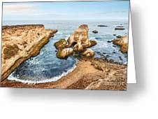 Montana De Oro Panorama Greeting Card