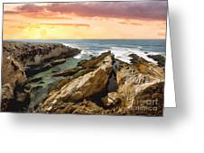 Montana De Oro Shore II Greeting Card