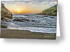 Montana De Oro Shore IIi Greeting Card