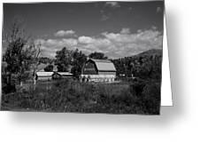 Montana Farm Greeting Card