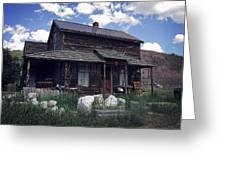Montana Home 2 Greeting Card