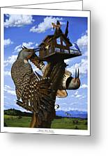 Montana Home Invasion Greeting Card