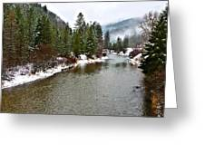 Montana Winter Greeting Card