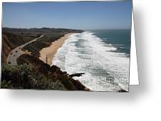 Montara State Beach Pacific Coast Highway California 5d22624 Greeting Card by Wingsdomain Art and Photography