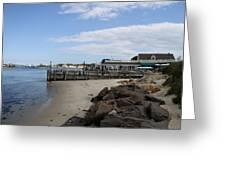 Montauk Port Long Island Greeting Card