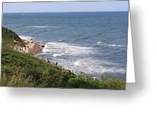 Montauk Pt. Long Island Greeting Card