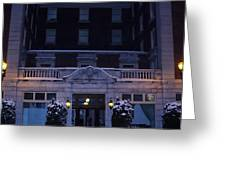 Monte Cristo Hotel Greeting Card by Donald Torgerson