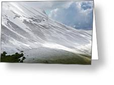 Monte Vettore Greeting Card