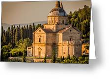 Montepulciano Tuscany Greeting Card