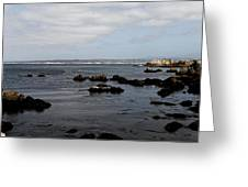 Monterey Bay View Greeting Card