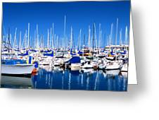 Monterey Bay Yacht Club 19704 Greeting Card