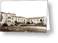 Monterey  Hospital At 576 Hartnell Street Circa 1939 Greeting Card