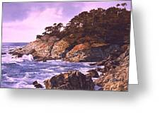 Monterey Glory Greeting Card